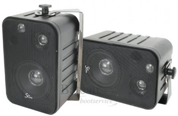 Verbazingwekkend 3 Weg Speakerset 180 Watt opbouw Waterbestendig per paar - Lalizas OL-09