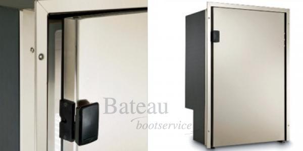 inbouw koelkast rvs deur