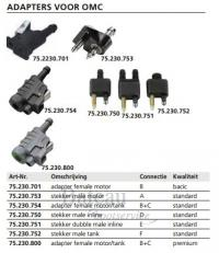 Adapter female motor/tank Standard