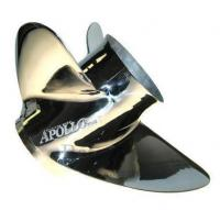 Apollo XHS Propeller <br />LG DIA 3 blads RVS links<br />Maat 15-1/2  x  17