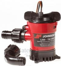 Johnson Bilge pomp<br /> L650 1000 GPH 12V