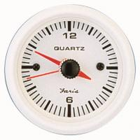 Faria Dress White Clock analoog