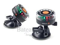 Navisafe Navilight <br />Tri-Colour 2NM zuignap, GoPro fitting