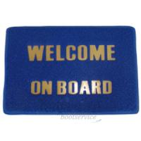 """Welcome on Board""<br />Vloermat"